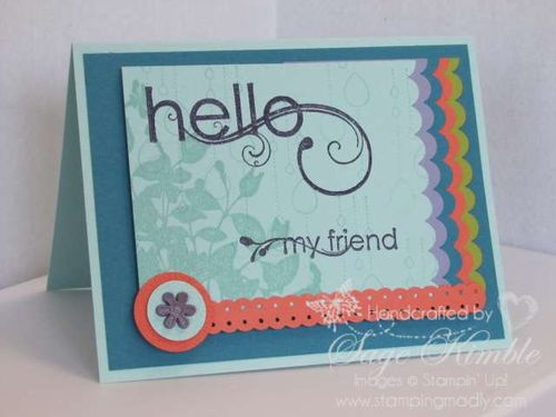 My Friend from Stampin' Up!