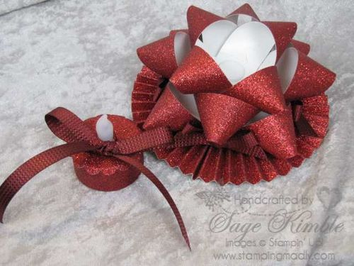 Glimmer Paper Bow