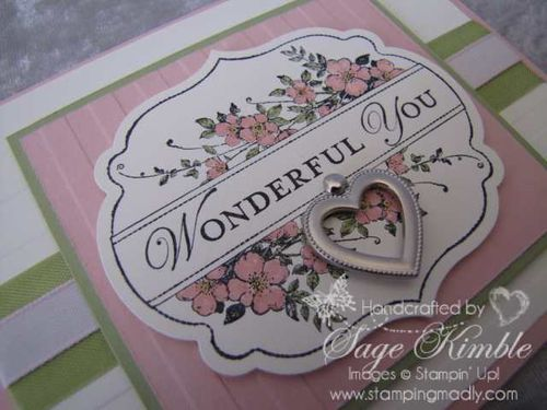 Apothecary Art and Framelits from Stampin' Up!
