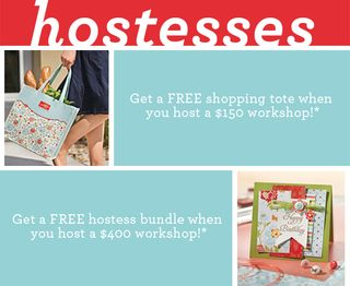 Extra Hostess Gifts during Sale-a-bration