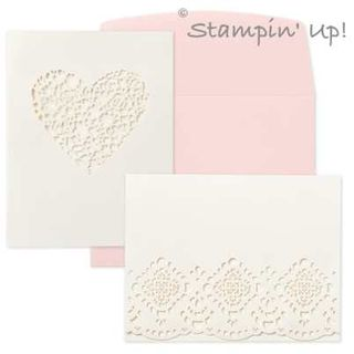 Designer Cuts Cards & Envelopes from Stampin' Up!