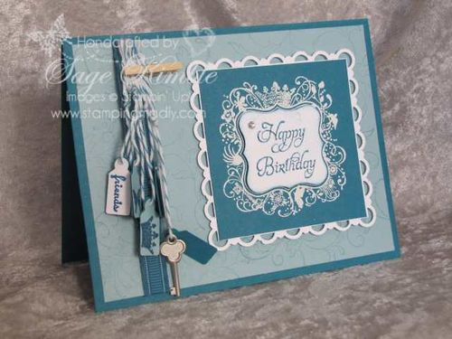Elementary Elements and Tiny Tags from Stampin' Up!