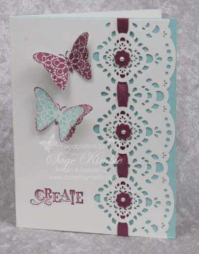 Designer Cuts & Creative Elements from Stampin' Up!