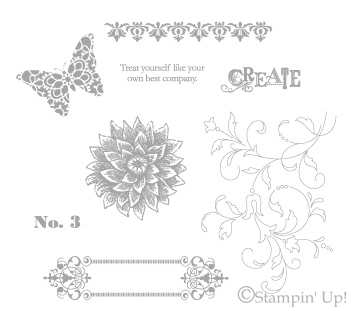 Creative Elements stamp set from Stampin' Up!