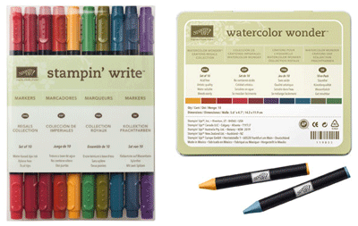 Stampin' Write Markers & Watercolor Wonder Crayons