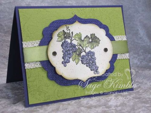 Nature's Pace from Stampin' Up!