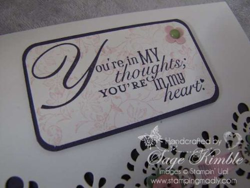 Beautiful handmade cards from the Designer Cuts set