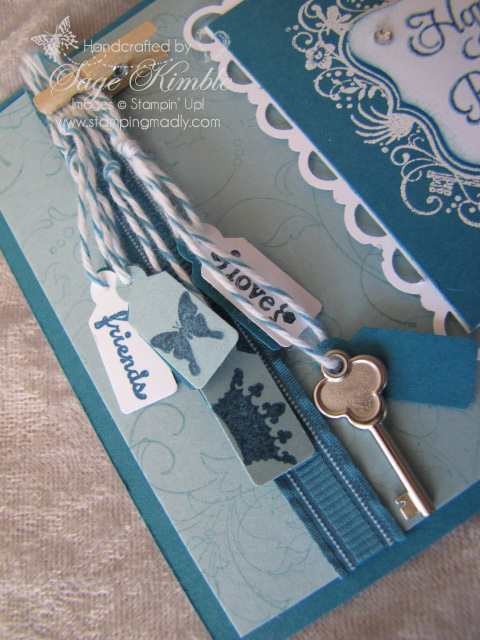 Jewelry Tag Punch, Trinket Key, and Tiny tags from Stamping Madly
