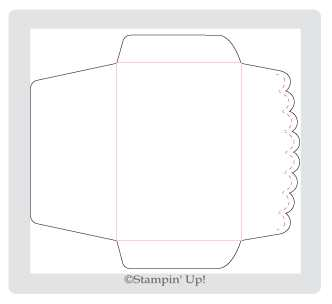 Click Here to order the Scallop Envelope Die from Stampin' Up!