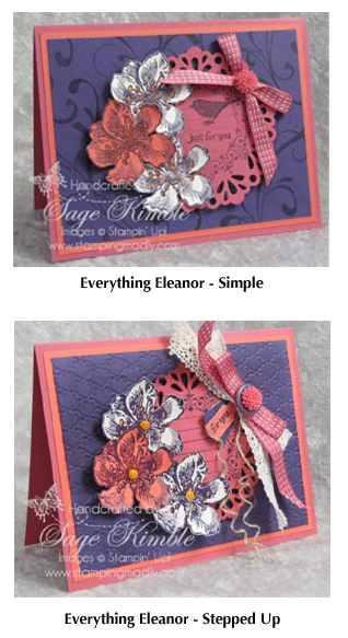 Everything Eleanor projects for the Mad Stampers Club