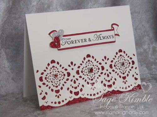 Handmade Valentine from Stamping Madly