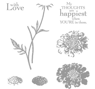 Field Flowers stamp set from Stampin' Up!