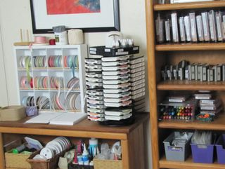 Get organized in the paper craft studio