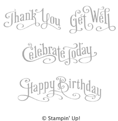 Order Single Stamps from the Perfectly Penned stamp set
