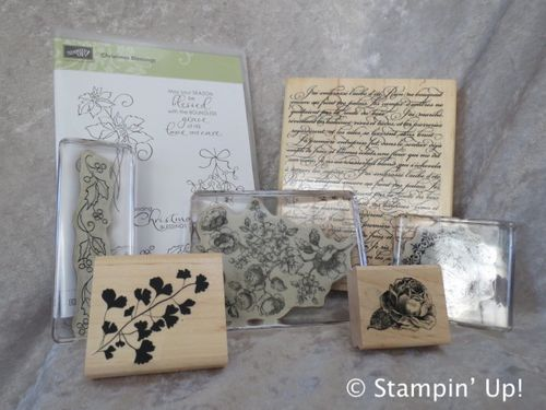 Click to order:  15% OFF most stamps from Stampin' Up!