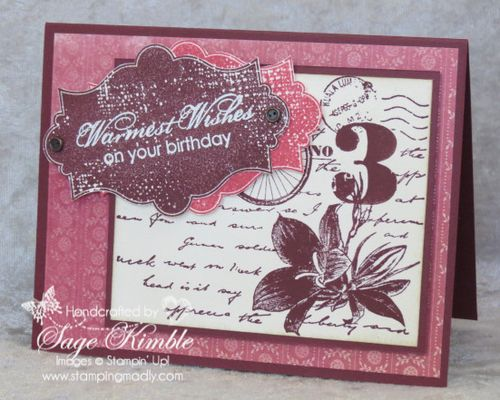 Fan Fair and Postage Due from Stamping Madly