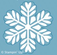 Click Here to Order the single stamp Bold Snowflake from Stampin' Up!