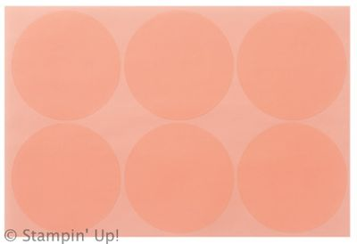 Click here to order Jumbo Sticky Rounds from Stampin' Up!