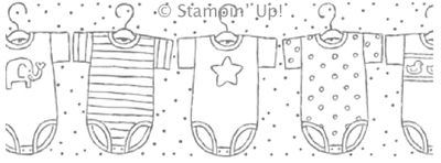 Click here to order the Baby Tees Wheel from my Online Stampin' Up! Store