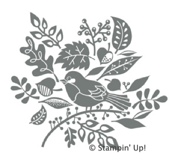 Order Tweet Leaves Digital Stamp Brush from Stampin' Up!