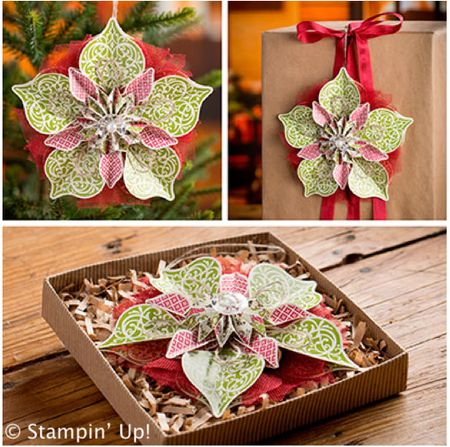 Click Here to order the Ornamental Elegance Kit from Stampin' Up!