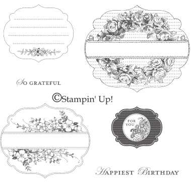 Click here to order Apothecary Art stamp set from Stampin' Up!