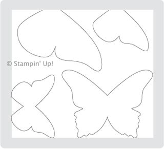 Click here to order the Beautiful Butterflies Die from Stampin' Up!