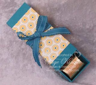 "Free Video Tutorial on How to Make a Nugget Box if you ""Like"" Stamping Madly on Facebook"