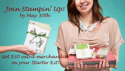 Be Your Own Boss as a Stampin' Up! Demonstrator