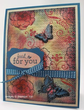 Stamping Madly Cardmaking contest entry from Robbie Chandler