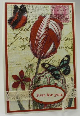 Stamping Madly Cardmaking Contest Entry from Robbie Chandler #2
