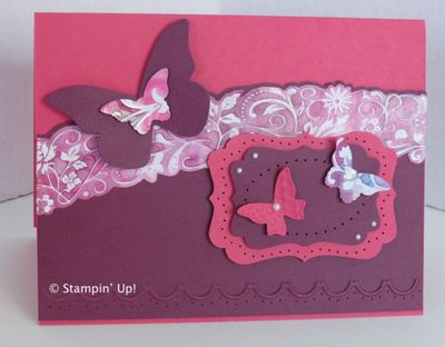 Janelle Varner Entry #2 in the Stamping Madly Cardmaking Contest