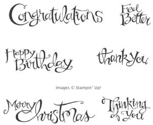 Click here to order Sassy Salutations at 25% off from my Online Stampin' Up! Store