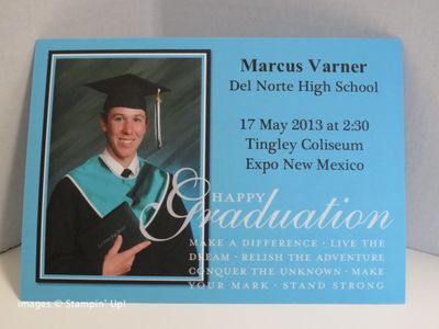 Graduation Announcement created in My Digital Studio by Janelle Varner