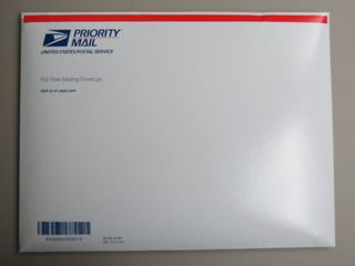 Priority Mail Envelope with new Stampin' Up! Catalog inside